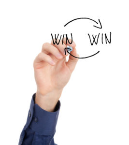 creating a win win scenario in negotiations is the ideal outcome
