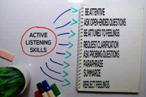 Internal audits active listening
